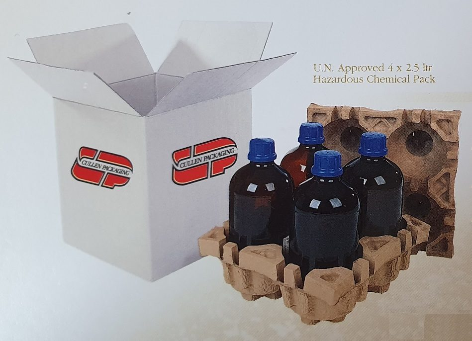 CULLEN PACKAGING MOVE INTO MOULDED PULP Timeline Image