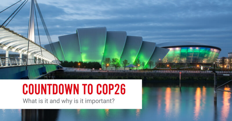 Countdown To COP26: What Is COP26? Featured Image