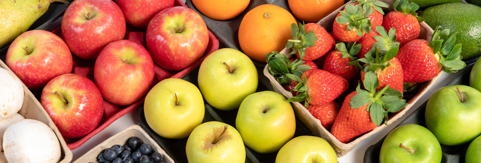 Moulded pulp produce trays for pears, avocado, apples and more from Cullen