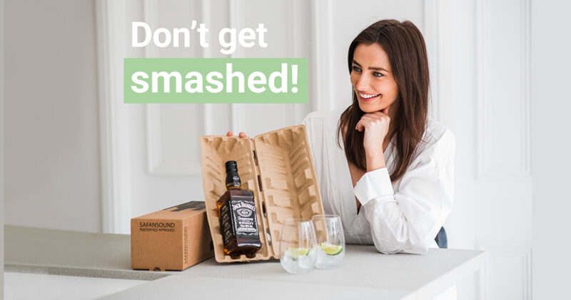 Choosing The Right Delivery Packaging For Alcohol Bottles Featured Image